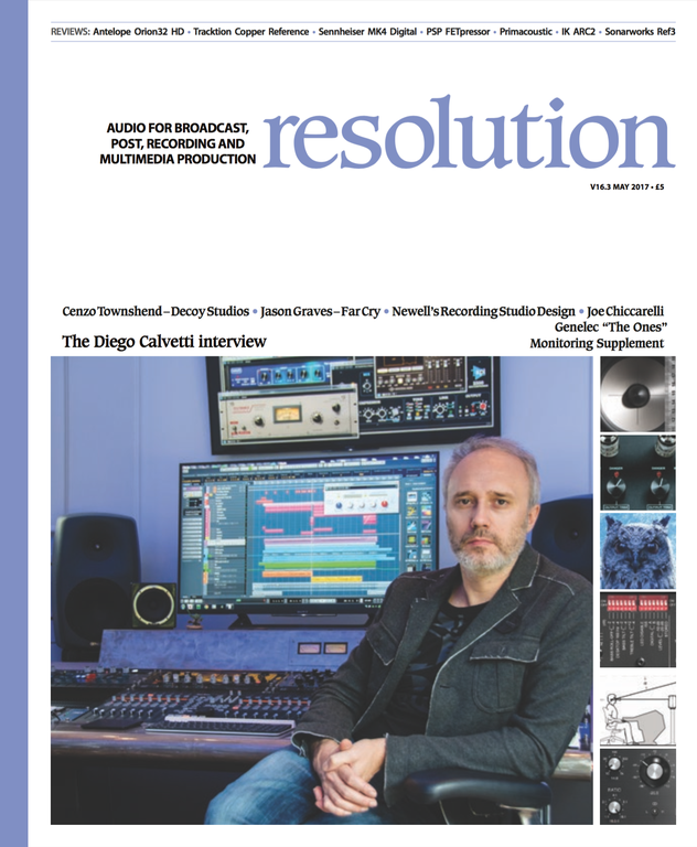 Diego Calvetti Cover Resolution