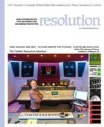 Fabrizio Simoncioni & The Garage Studio in copertina su Resolution